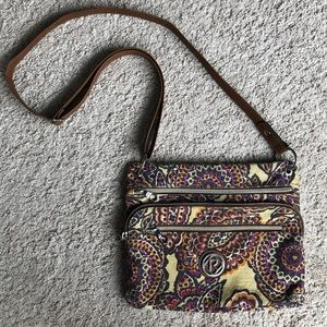 Relic by Fossil Paisley Crossbody Purse